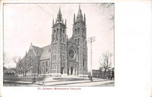 Canada Quebec Montreal St. James Methodist Church