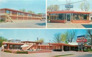 Fort Smith Arkansas~Zinnamon Sands Motel And Restaurant~1950s PC