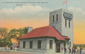 NIAGARA FALLS, Ontario, 1900-10s ; Whirlpool Rapids Souvenir & Elevator Building