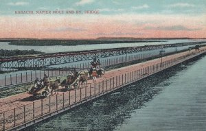 KARACHI , India , 00-10s ; Napier Mole and Ry Bridge