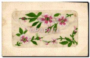 Old Postcard Fantasy Flowers Toil?e