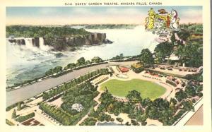 The Falls and Oakes Garden Theatre - Niagara Falls, Ontario, Canada