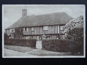 Kent Ashford TENDERDEN Small Hythe DAME ELLEN TERRY'S COTTAGE - Old Postcard