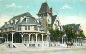C-1910 Hotel Nantasket Massachusetts roadside Reichner Postcard 12902