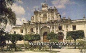 Catedral de la Antigua Guatemala, Central America Unused