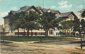 East Side High School, Minneapolis, MN, Minnesota, UNDivided Back