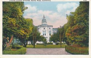 Ursline College Grounds - Santa Rosa CA, California - WB