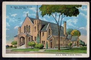 St James Lutheran Church,Marinette,WI BIN
