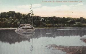 SHERBROOKE , Quebec , Canada ,1912 , Lone Pine , St Francis River