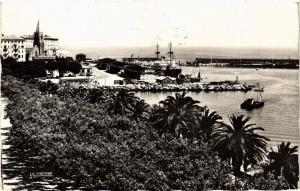 CPA CORSE Bastia- La Place Saint Nicolas et le Nouveau Port. (711475)