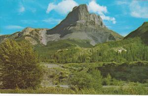Roche Miette, Prominent Landmark Near Eastern Boundary Of Jasper Park, Albert...