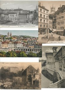 Switzerland Lausanne Postcard Lot of 10 01.11