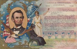 Lincoln Centennial Souvenir The Martyred President