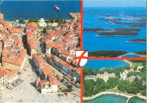 Croatia, Rovinj, Stari dio grada 1987 used Postcard