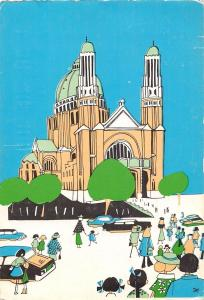 Belgium Brussel Bruxelles Basilique Nationale du Sacre Coeur Basilica