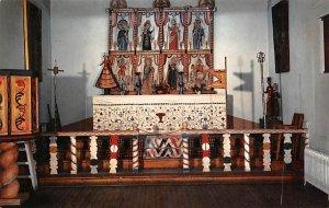 Altar Screen of Llano Quemado Church Ecclesiastical Room, Museum in the Palac...