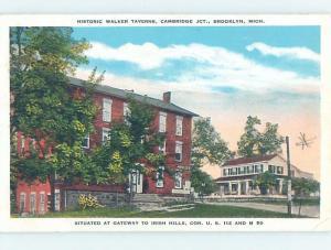 W-Border CAMBRIDGE JUNCTION Brooklyn In Columbia Near Adrian & Jackson MI G2179