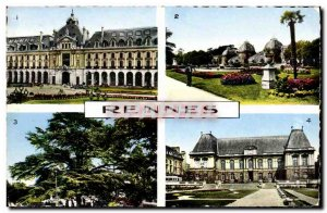 Postcard Modern Rennes Palace Trade English Garden Tabor Cedre Courthouse