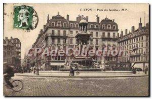Old Postcard Lyon Place des Jacobins