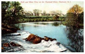 Rhode Island  Pawtuxet falls and River