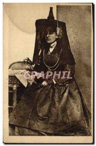Postcard Old Bressane Folklore