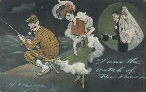 AS; I am the catch of the season, 1900-10s; From fishing to marriage