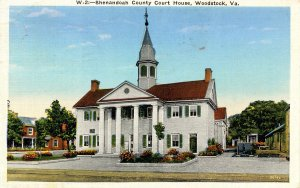 VA - Woodstock. Shenandoah County Courthouse
