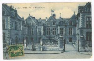 L'Hotel De Ville, Orléans (Loiret), France, 1900-10s