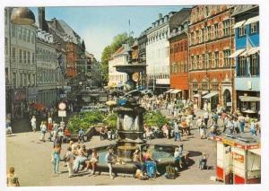 Copenhagen. Shops, Fountain, DENMARK, 50-60s