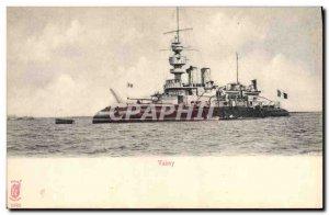 Old Postcard Boat War Valmy