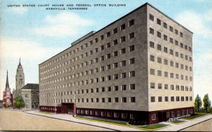Tennessee Nashville United States Court House and Federal Office Building 1955