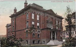 DETROIT , Michigan , PU-1909 ; Public Library
