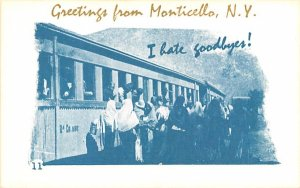 Greetings from Monticello, New York Postcard
