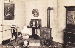 Living Room Mark Twain Museum Hannibal Missouri Real Photo