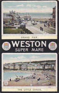 Weston Super Mare , Somerset , England , 00-10s ; Grand Pier & The Little Sands