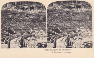 GREECE, 1900-1910s; Theatre de Dionysos