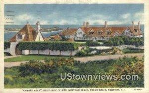Residence of Mrs. Wortham James - Newport, Rhode Island