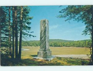 Unused Pre-1980 GEORGIA MEMORIAL Marietta Georgia GA hn1153