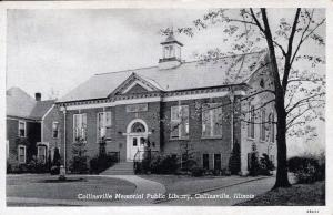 US    PC1371  COLLINSVILLE MEMORIAL LIBRARY, COLLINSVILLE, IL
