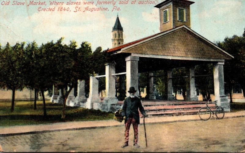 Florida St Augustine Old Slave Market