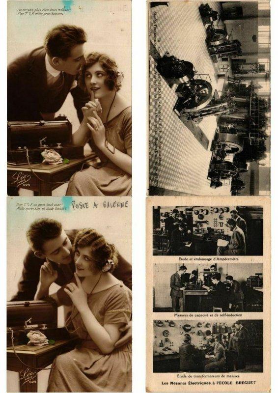 RADIO 11 CPA Mostly Pre-1940 (L2709)