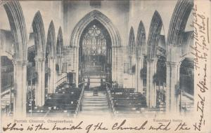CHESTERFIELD, Derbyshire, England, United Kingdom; Interior Parish Church, PU...