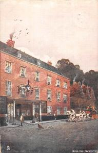 Bull Inn, Rochester, White Horses Carriage 1905