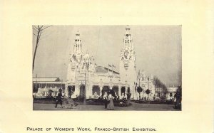 Postcard exhibitions Palace of Women's work Franco-British Exhibition