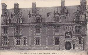 Le Chateau- Facade Louis XII, Blois (Loir-et-Cher), France, 1900-1910s