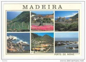 MADEIRA, 1970s 6-view Porto Do Moniz
