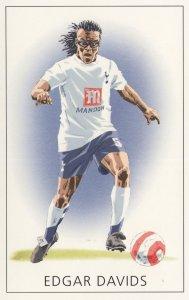 Edgar Davids Spurs Tottenham Hotspur FC Stunning Painting Postcard