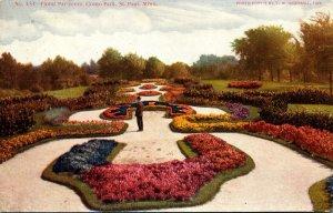 Minnesota St Paul Como Park Floral Par-Terre 1910