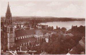 RP: KONSTANZ Am Bodensee, Baden-Wurttemberg, Germany, 1910's; Bodensee. Munster.