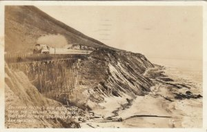 RP: LA to SF Coast , California, 1938 ; SP Daylight Streamer Train